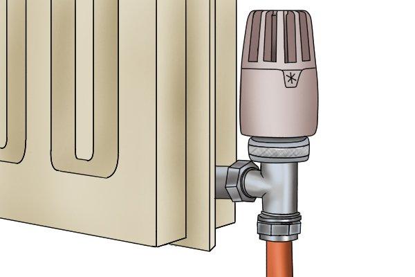 Termostatik Radyatör Vanası Satışı Resmi